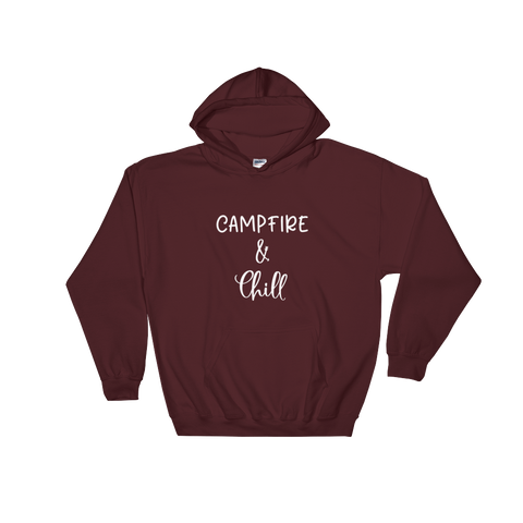 Campfire and Chill Womens Hoodie