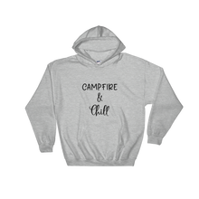 Load image into Gallery viewer, Campfire and Chill Womens Hoodie