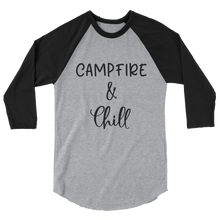 Load image into Gallery viewer, Campfire and Chill Womens Shirt