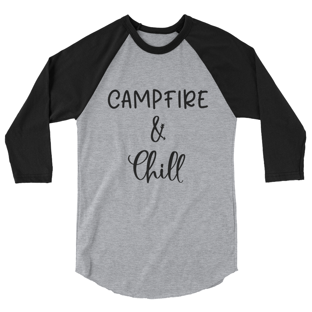Campfire and Chill Womens Shirt