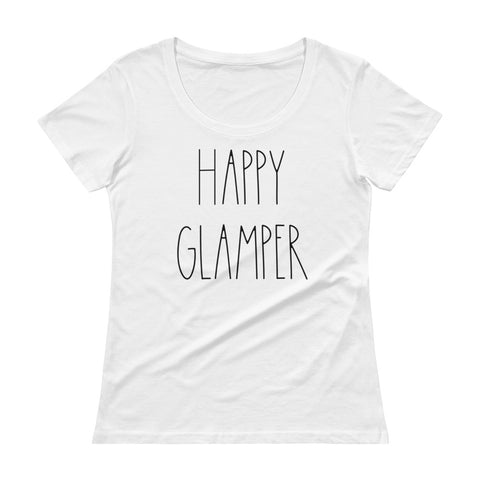 Happy Glamper Womens Shirt