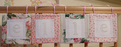 Vintage Personalised Girls Named Bunting