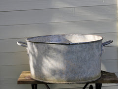 Sorry Sold Large Galvanised Tub