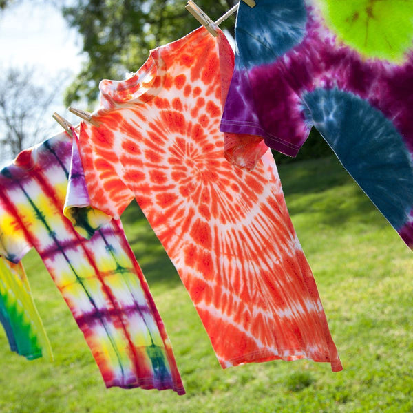 How to wash tie dye