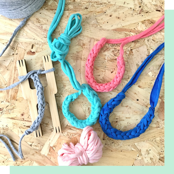 How to make corded bracelets