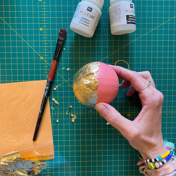 apply foil to bauble