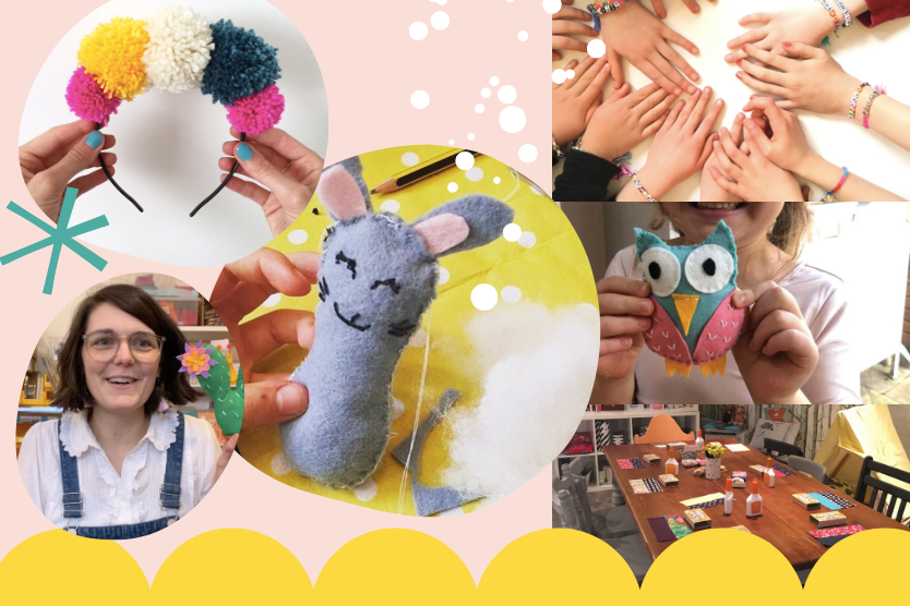 Kids sewing parties in London with The Sewcial Circle
