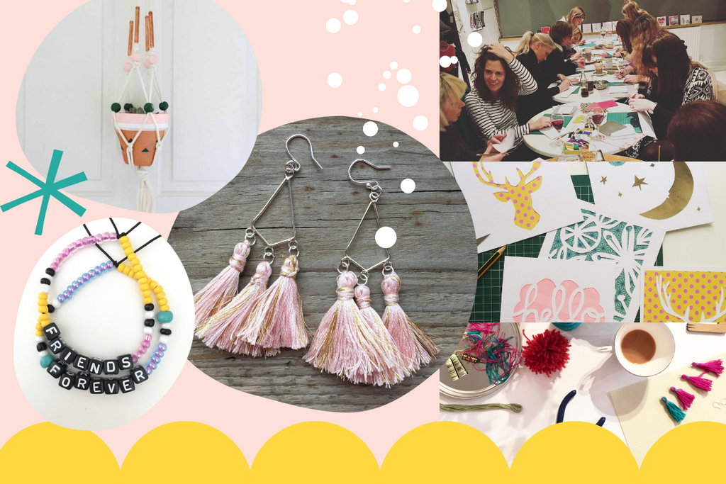 Adult crafty parties in London