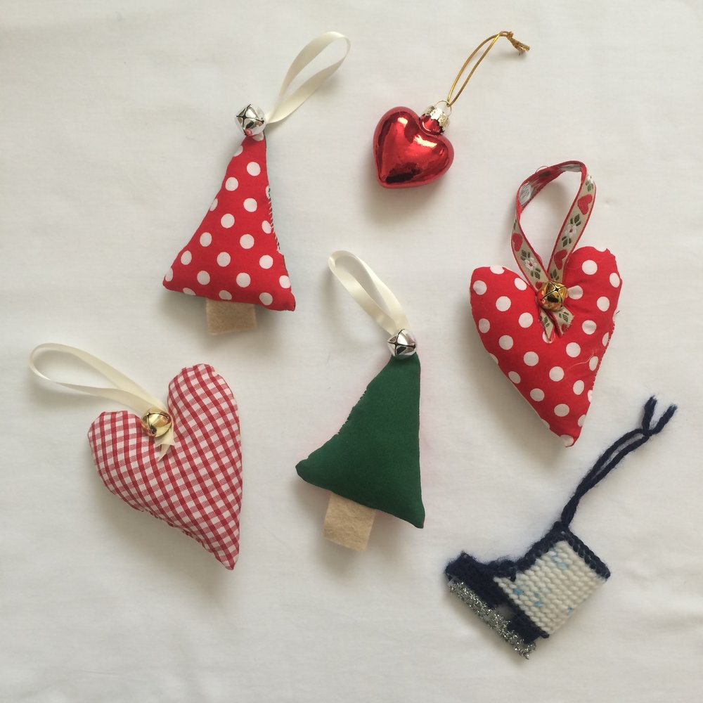 Scandi-Inspired ornaments