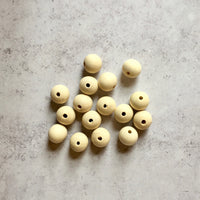 Drilled Wooden Beads
