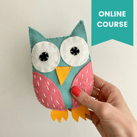 Messenger Owls Online Sewing Course for Kids
