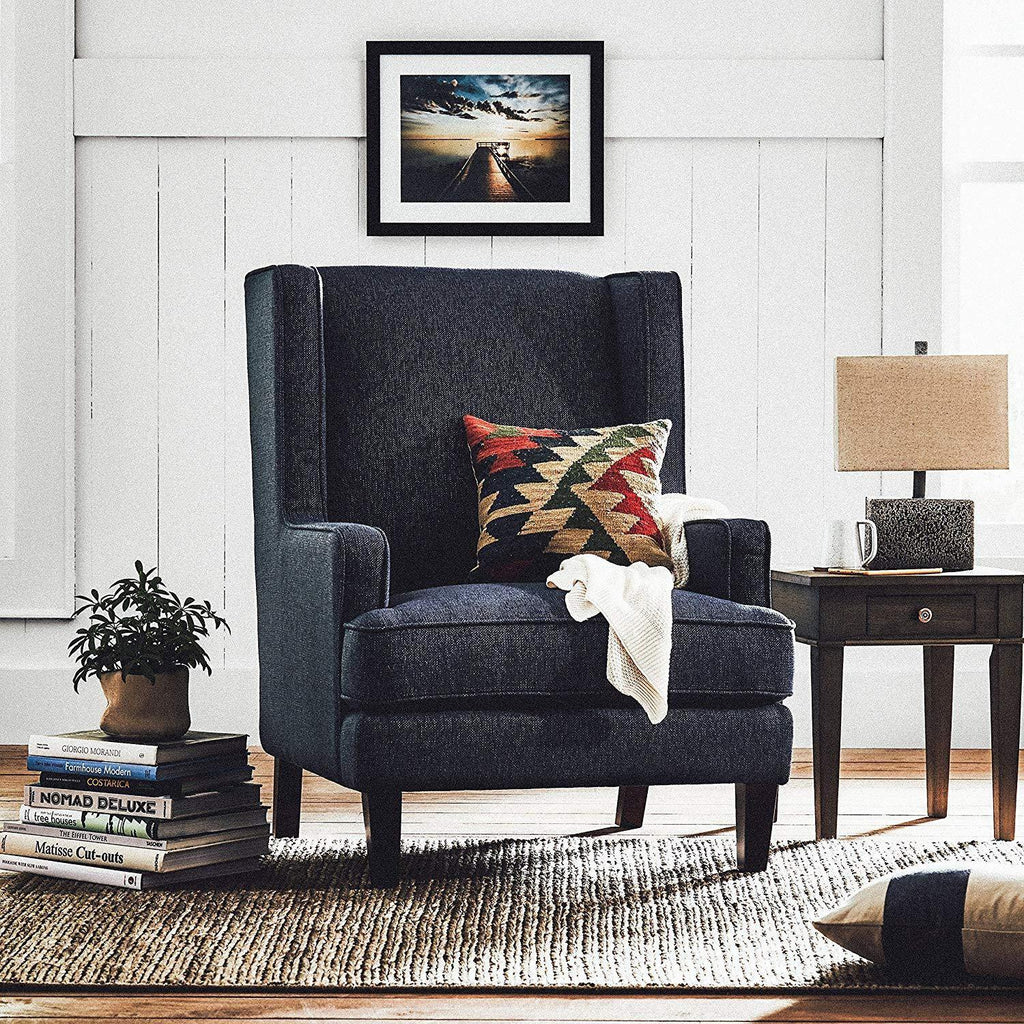 Classic and contemporary highland modern wingback accent chair- Online Furniture Store