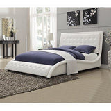 Coaster Home Furnishings Transitional Bed, Queen, White