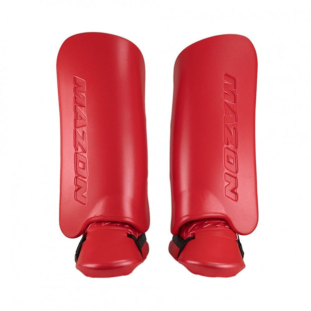 Midi Legguard/Kicker Set Red (10-12yrs)