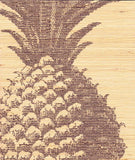 Pineapple Grasscloth