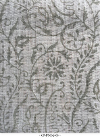Sprig and Tendril on Fabric