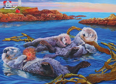 Sea Otter Family Puzzle