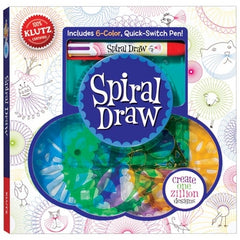 Spiral Draw Spirograph book from Klutz