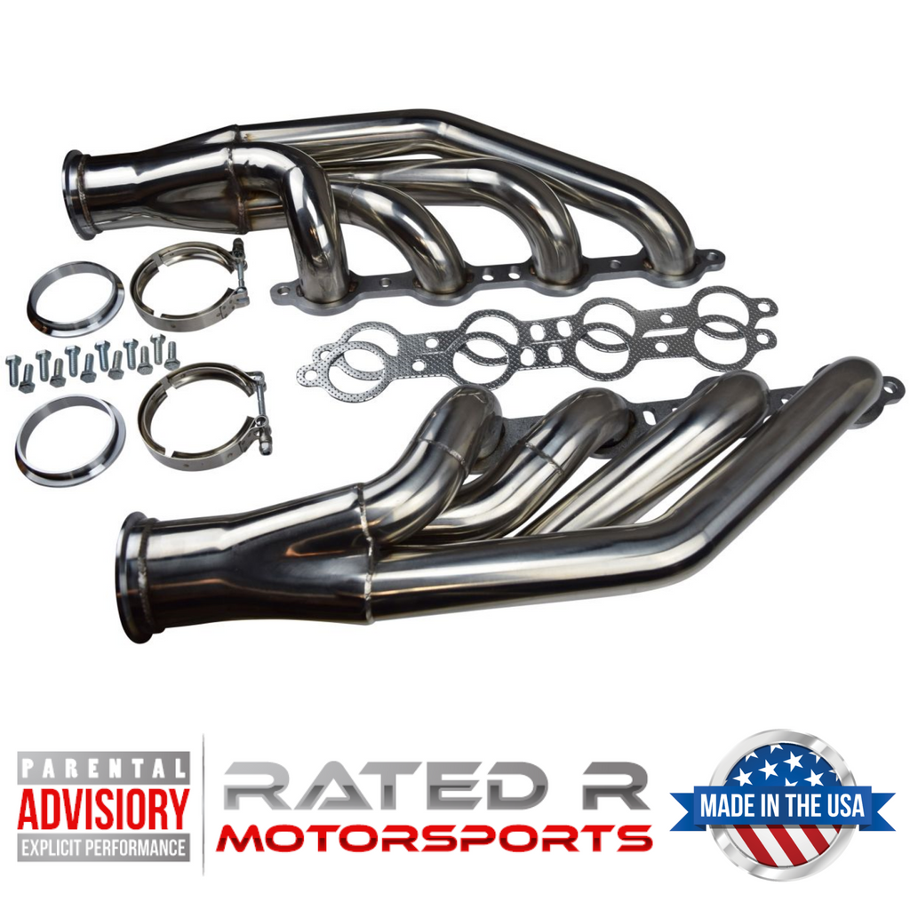 GM LS Turbo Exhaust Manifold Headers Down & Forward or Up & Forward