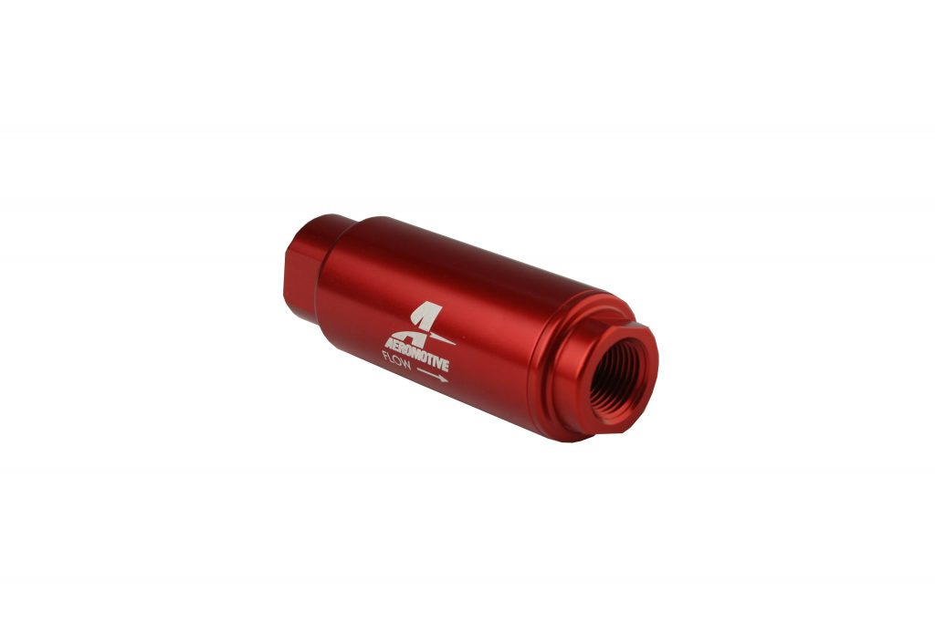Aeromotive 100 Micron Fuel Filter Red