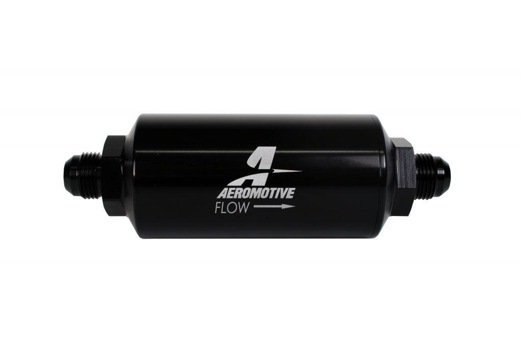 Aeromotive 40 Micron Fuel Filter Male Ends