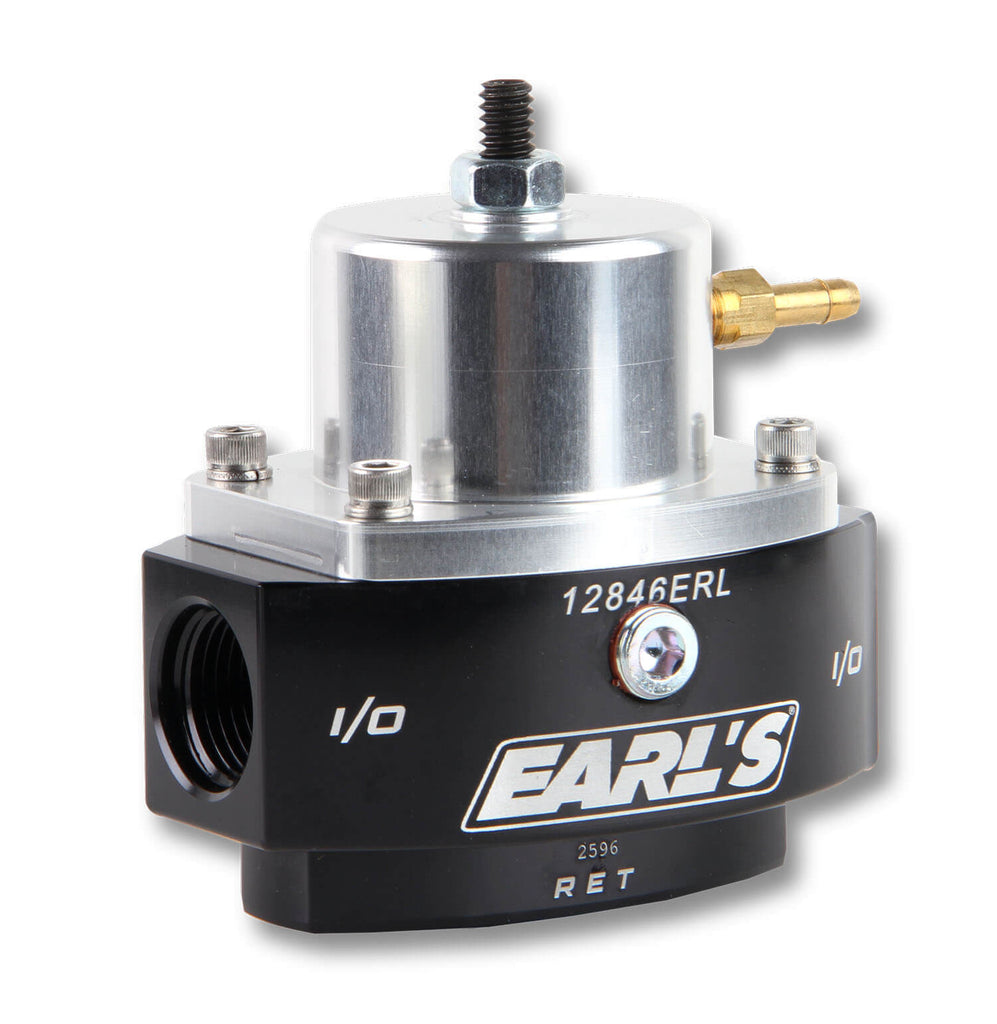 Earls HP Billet EFI By Pass Fuel Pressure Regulator -8an