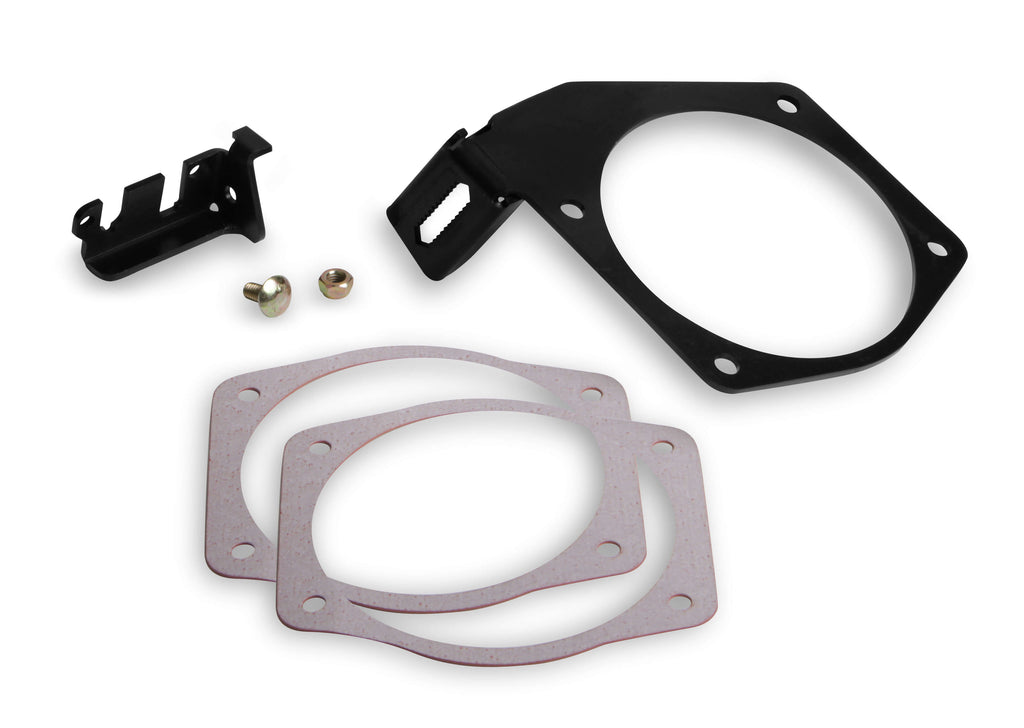 Holley 105mm Throttle Cable Bracket For OE Factory & Fast Intake Manifolds