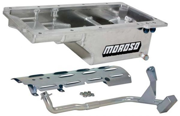 Moroso Drag/Road F-Body Remote Filter Race Oil Pan Kit 21150