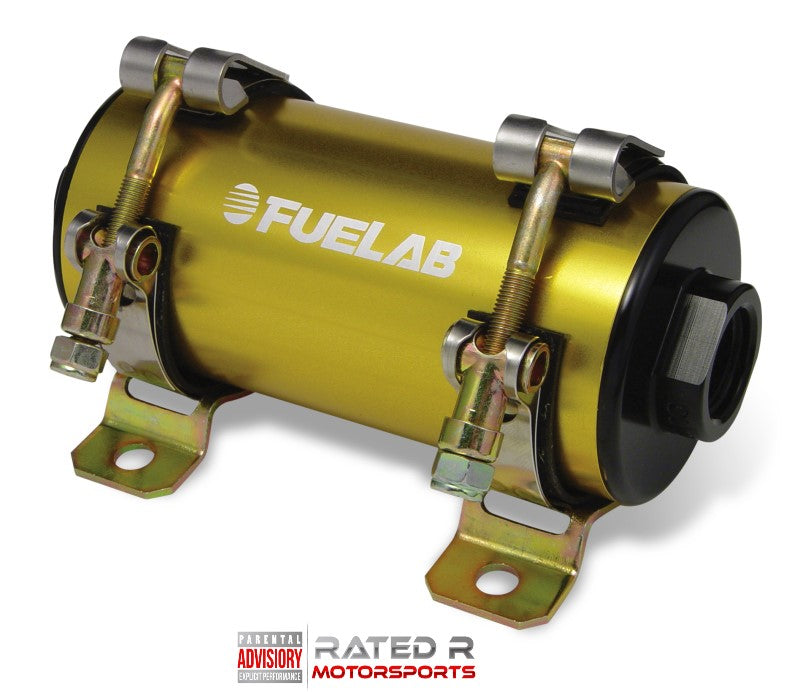 Fuelab Prodigy High Flow Carbureted In-Line Fuel Pump 1800 HP