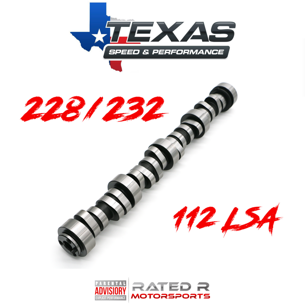 Texas Speed Gen 3 Gen 4 LS 228/232 112 LSA Camshaft