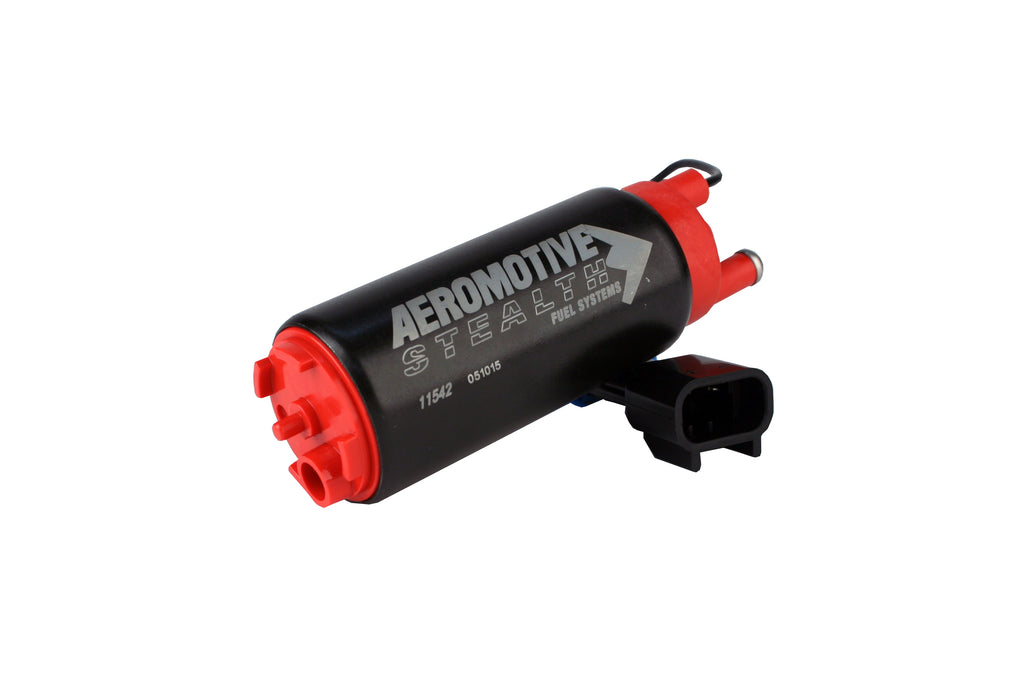Aeromotive Stealth 340lph In Tank Fuel Pump Offset Inlet (In Line With Outlet)