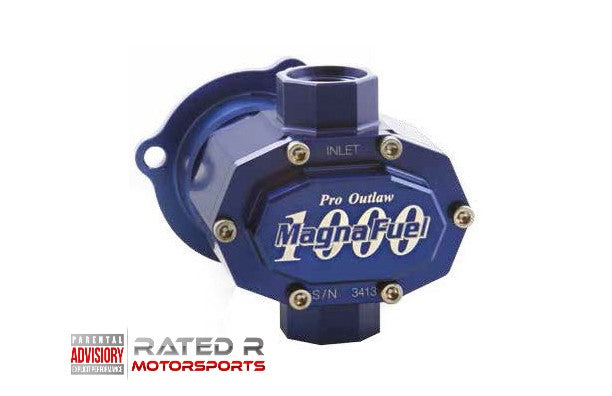 Magnafuel Pro Outlaw 1000 Series Belt Drive Fuel Pump