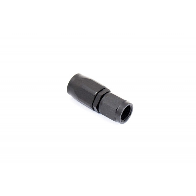 BTR AN Fitting Straight -4AN Hose End Black