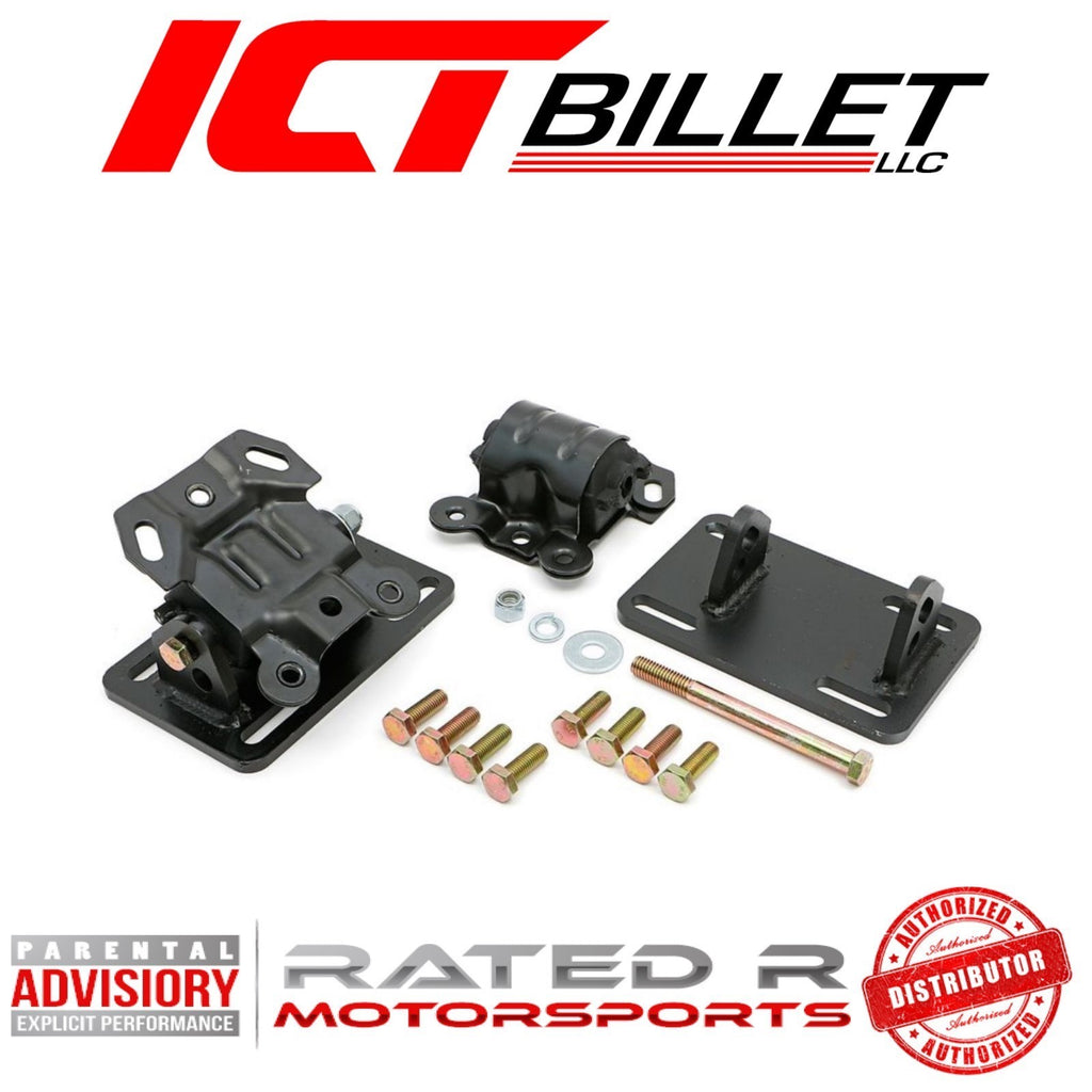 ICT Billet LS 1982-2004 S10 Engine Mount Kit