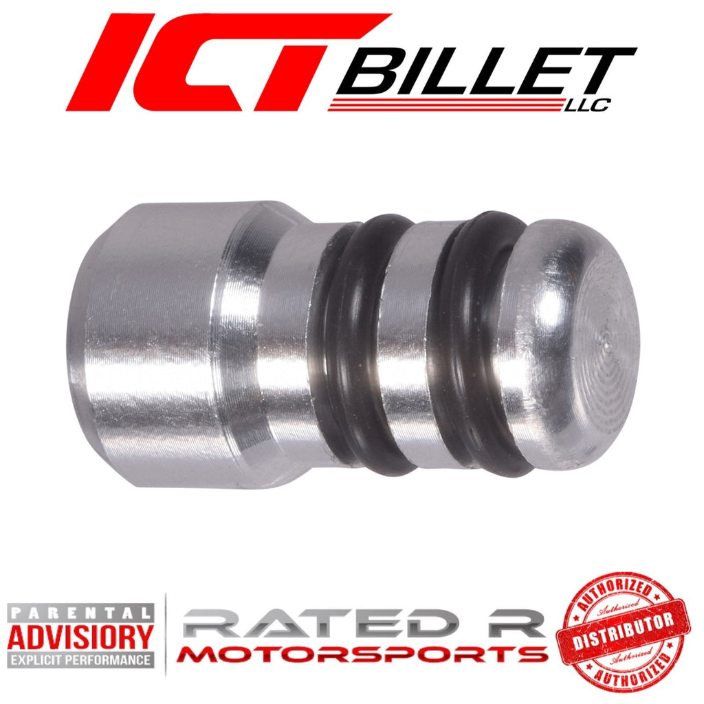 ICT Billet LS Oil Dipstick Tube Plug for Gen 3 Gen 4 Gen 5