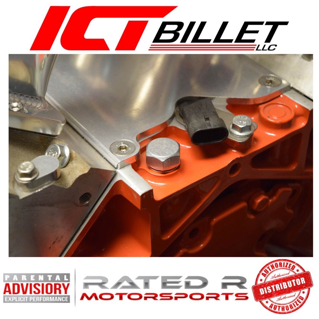 ICT Billet LS Oil Pressure Sending Unit Plug M16-1.5