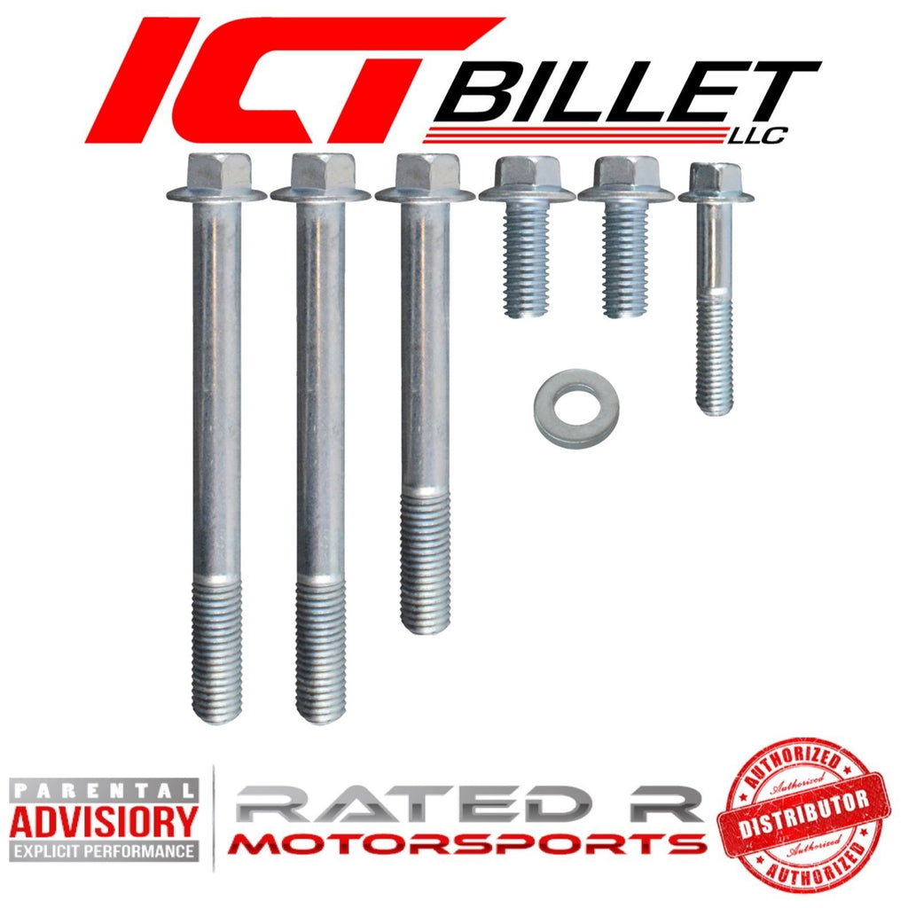 ICT Billet GM LS1 Camaro Alternator Bracket BOLT KIT ONLY