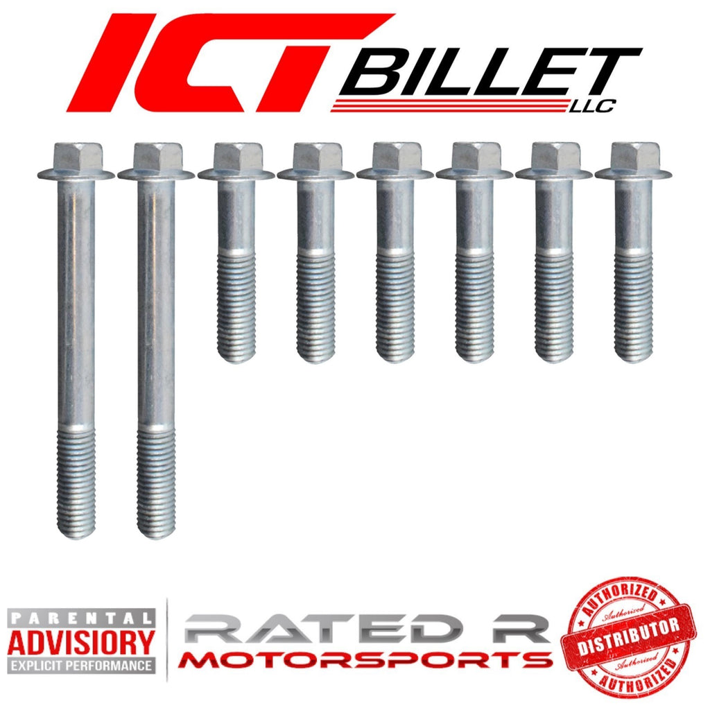 ICT Billet GM LS1 Camaro A/C Air Compressor Bracket BOLT KIT ONLY