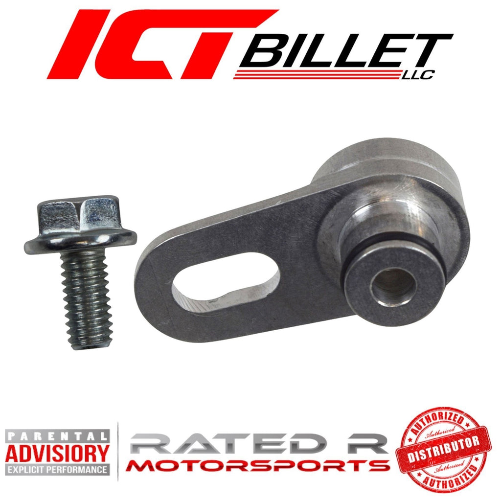 ICT Billet LSA LS9 LT4 Supercharger Vacuum Port 1/8 NPT Hose Adapter