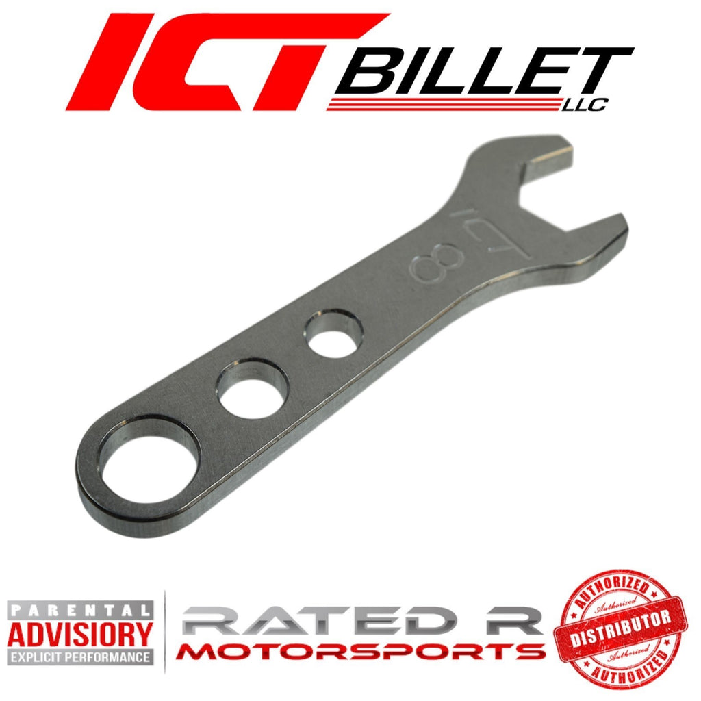 ICT Billet Aluminum AN Fitting Wrench 8AN Wrench 7/8""