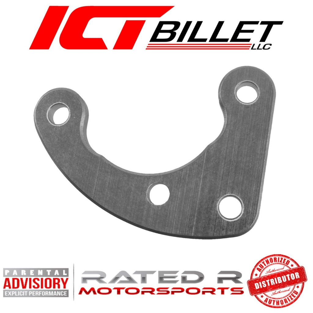 ICT Billet LS Power Steering Pump Front Support Bracket (97-13 Corvette & 98-02 Camaro LS1)