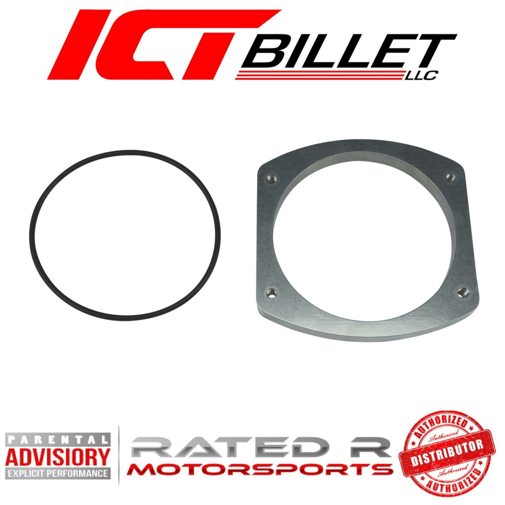 ICT Billet 102mm Intake Manifold Throttle Body Weld Flange