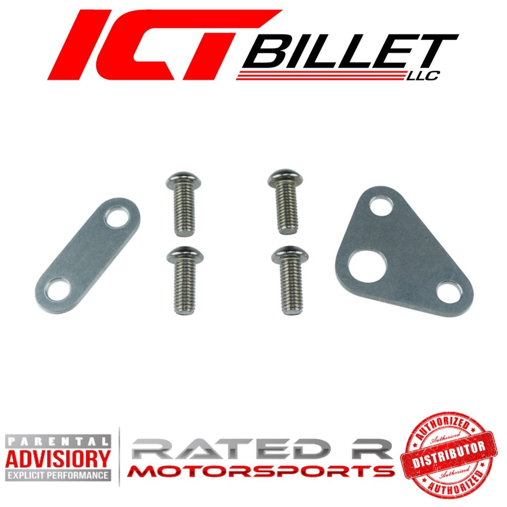 ICT Billet LS Gen 3 & Gen 4 Oil Pump Spacer Shim Kit (For Double Roller Timing Chains)