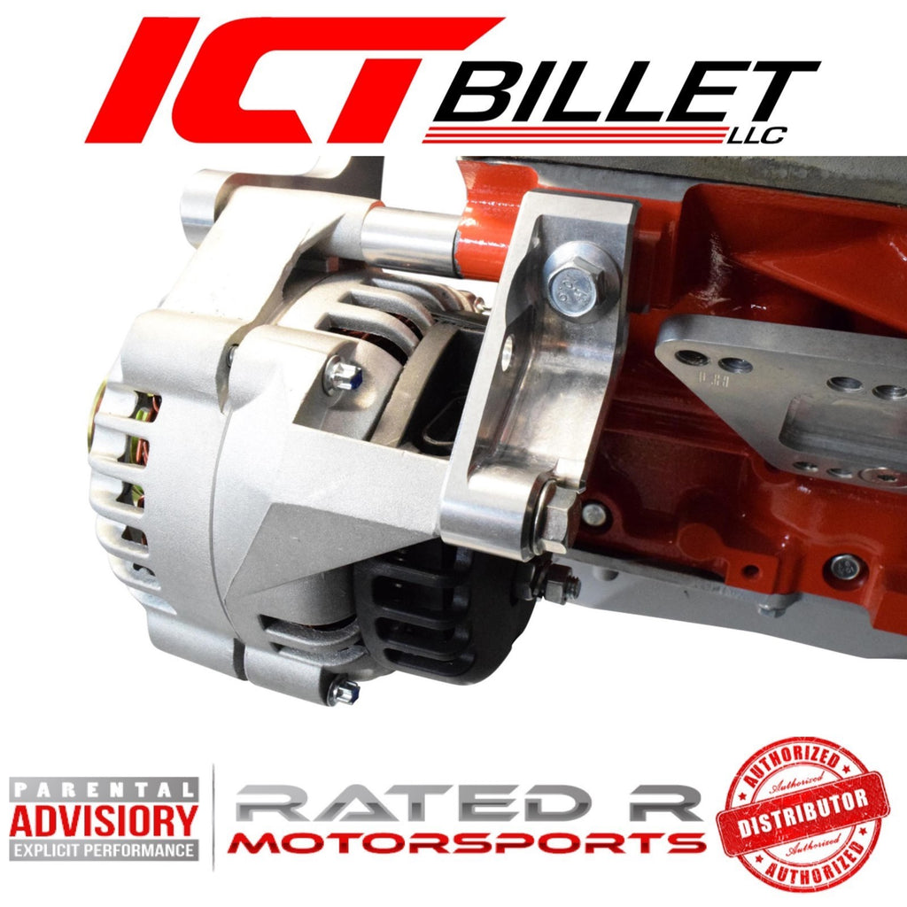 ICT Billet LS1 Camaro Rear Alternator Support Bracket