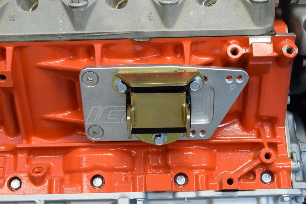 ICT Billet SBC to LS Swap Engine Bracket Set
