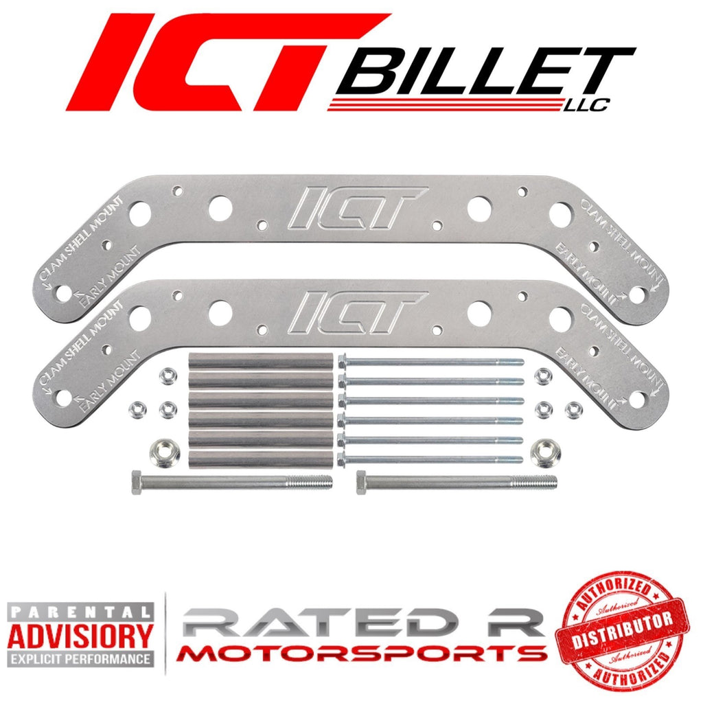 ICT Billet SBC Engine Mount Frame Jig Alignment Tool