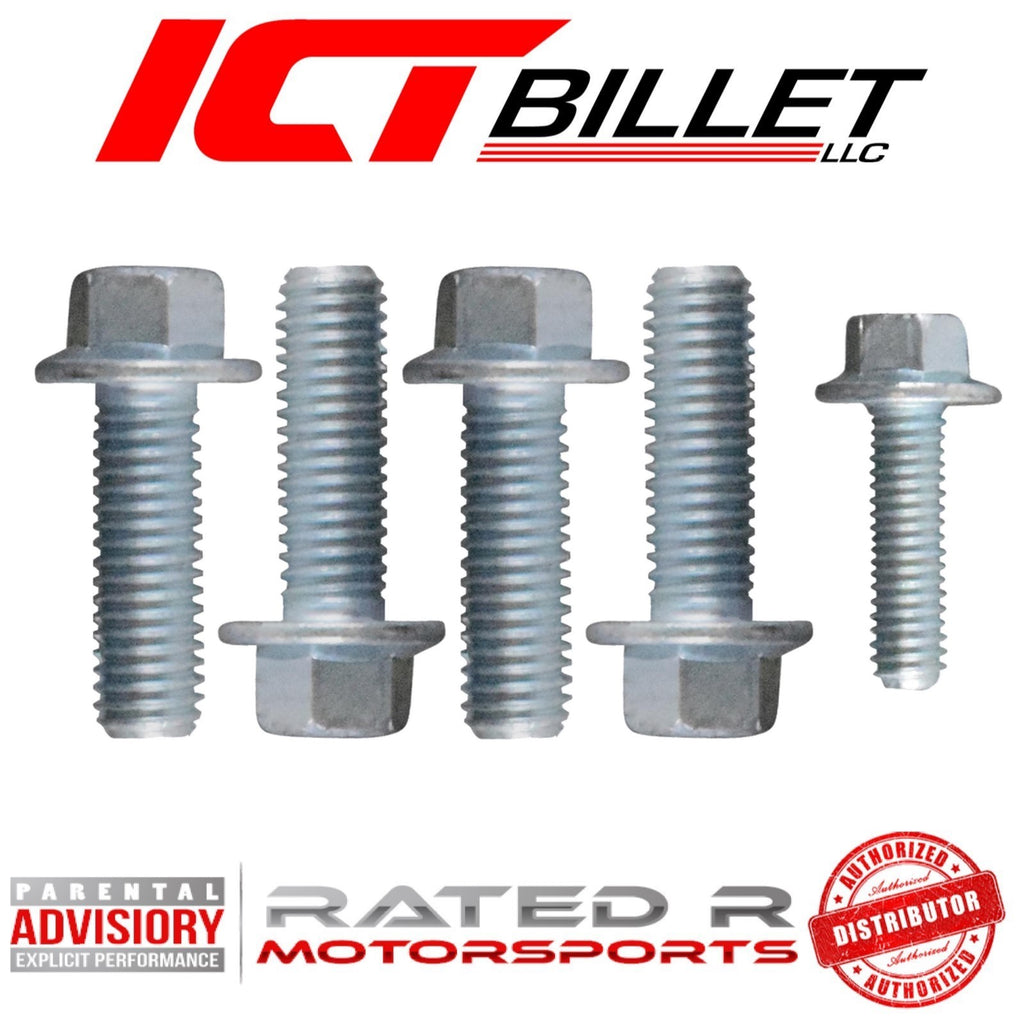 ICT Billet LS Gen 3 & Gen 4 Oil Pump & Pickup Tube BOLT KIT ONLY