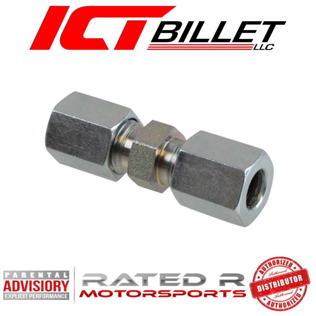 ICT Billet Power Steering Hose Compression Coupler