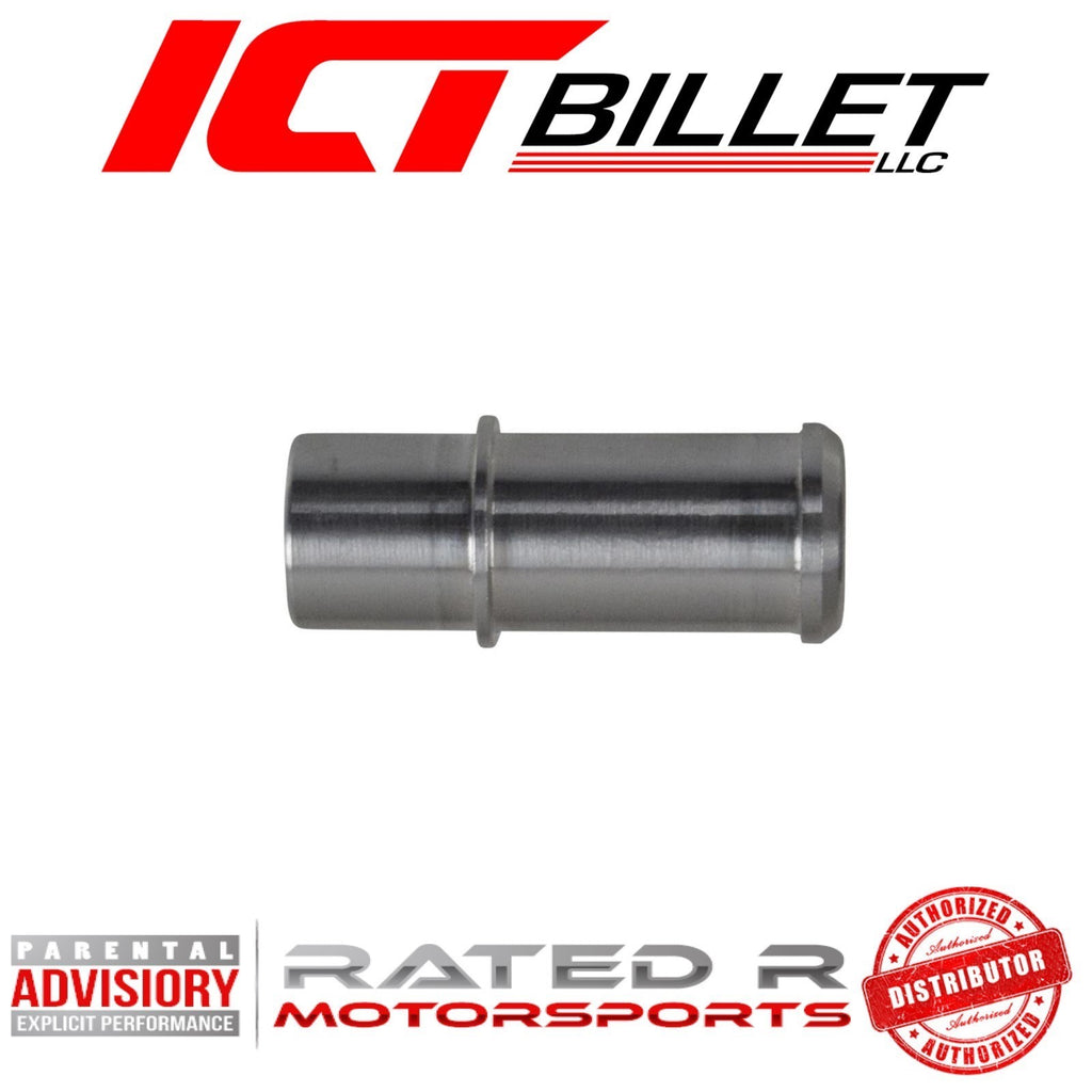 "ICT Billet LS Small 5/8"" Heater Hose Press In Fitting"