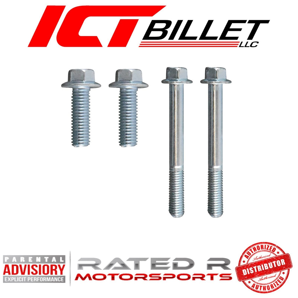 ICT Billet LS2 2005-2006 Power Steering Pump Bracket BOLT KIT ONLY